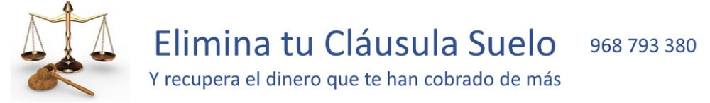 Eliminar clausula Suelo Murcia Valencia Alicante. Inicio