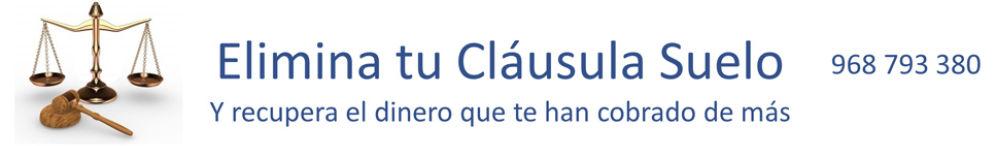 Retroactividad y cl usula suelo for Clausula suelo mayo 2013